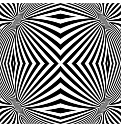 Design monochrome convex lines background vector