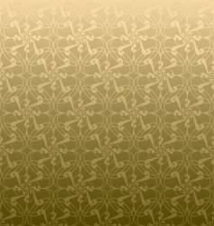 Golden swirl linear vector