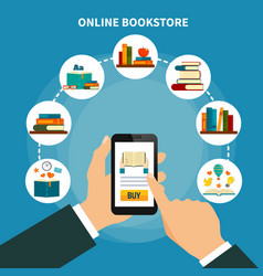 Online book store composition vector