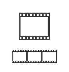 Photo frame icon vector