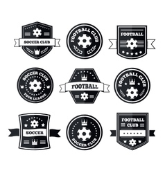 Team play in footbal vector