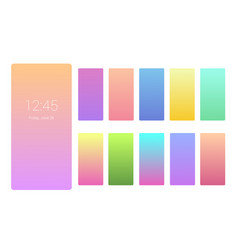 vivid color background design on screen gradient vector image