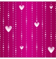 Glassy threads seamless pattern vector
