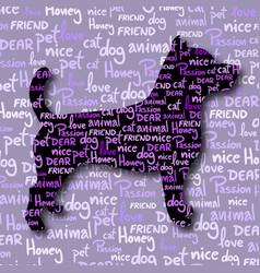art pet vector image