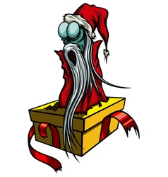 Ghost of Christmas Past or The Spirit of Christmas vector