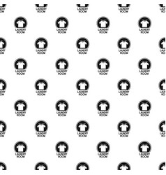 laundry clothes room pattern seamless vector image