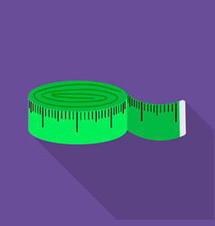 Measuring tape icon of for web vector
