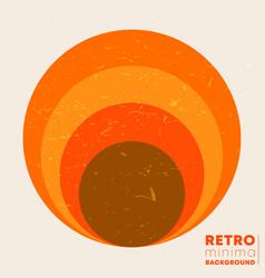 Retro grunge texture background with vintage vector