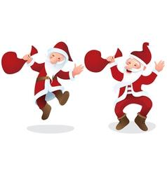 Santa Claus color vector image