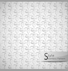 abstract seamless pattern eyes monochrome plus vector image vector image
