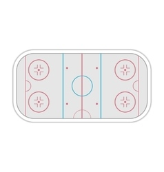 Field ice hockey vector image