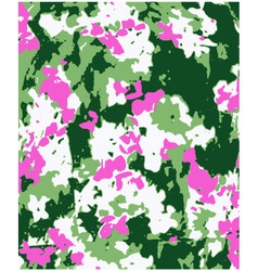 flower fashion texture vector image vector image