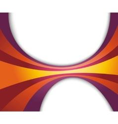 abstract refreshing rainbow wave vector image
