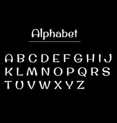 Alphabet letters alphabet white letters vector
