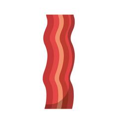 bacon stripe icon vector image