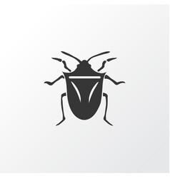 bug icon symbol premium quality isolated vector image