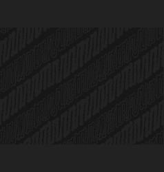 Dark javanese batik color seamless pattern vector