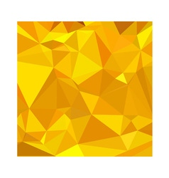 Peridot yellow abstract low polygon background vector