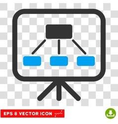 Scheme Screen Eps Icon vector image