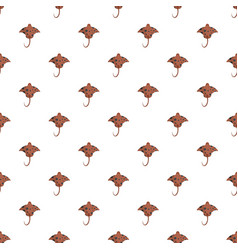 Stingray pattern seamless vector