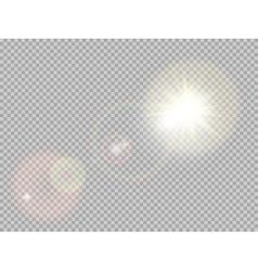 Sunlight special lens flare EPS 10 vector