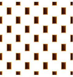 sweet biscuit pattern seamless vector image