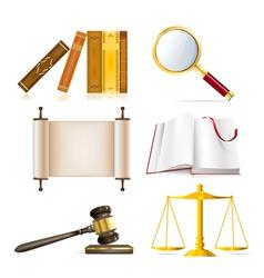 justice set vector image