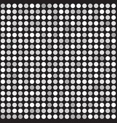 polka dot pattern seamless background vector image vector image
