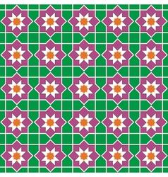Seamless traditional islamic vector image vector image