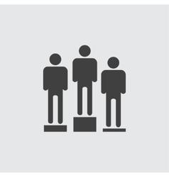 Award ceremony icon vector image