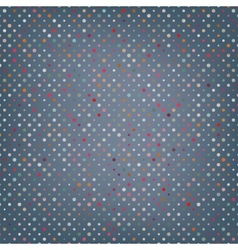 Polka dots pattern background vector image