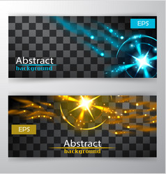 Bright lines abstract minimalistic web header vector