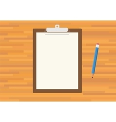 Clipboard isolated vector