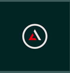 Cool and modern logo initials ac design 1 vector