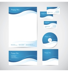 Corporate identity vector image