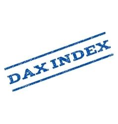 Dax Index Watermark Stamp vector