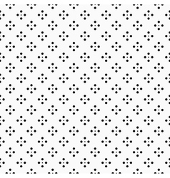 Geometric pattern with dots - seamless vector