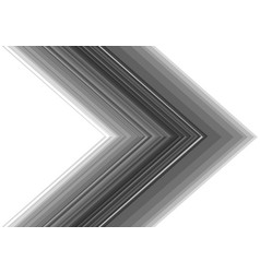 grey line tone arrow direction on white vector image