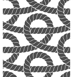 Ropes seamless pattern vector