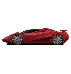 Super car vector