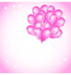 balloons backdrop vector image