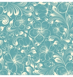 Beautiful seamless background vector image vector image