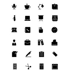 Office Icons 1 vector image