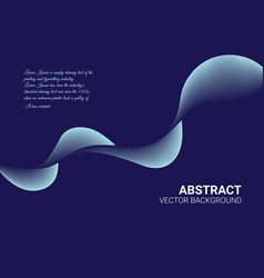 Audio wave logo on background abstract background vector