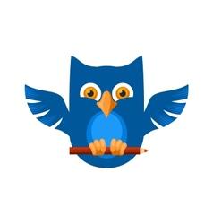 Blue Owl vector