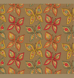 Butterflies paper pattern vector