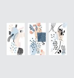 design editable stories wallpaper vector image