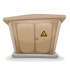 Electrical cabinet vector