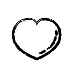 Figure heart lover symbol design image vector