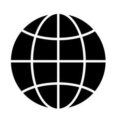 globe icon simple minimal 96x96 pictogram vector image
